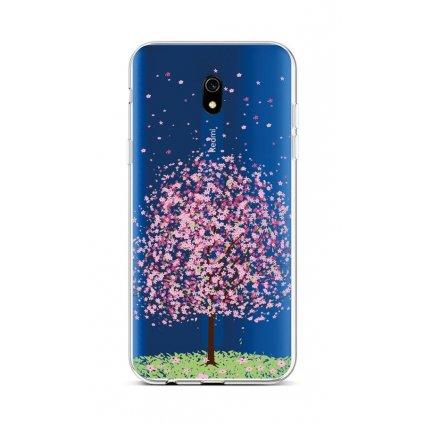 Zadný silikónový kryt na Xiaomi Redmi 8A Blossom Tree