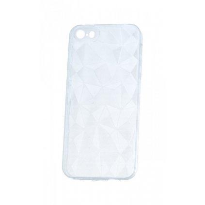 Zadný silikónový kryt Prism Jelly na iPhone 5 / 5S / SE priehľadný