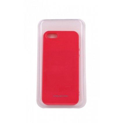 Zadný silikónový kryt Molan Cano Jelly na iPhone 5 - 5S - SE ružový