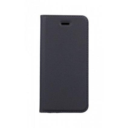 Flipové púzdro Dux Ducis na iPhone 5 - 5S - SE šedé tmavé