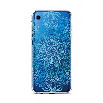 Zadný silikónový kryt na Huawei Y6s Blue Mandala