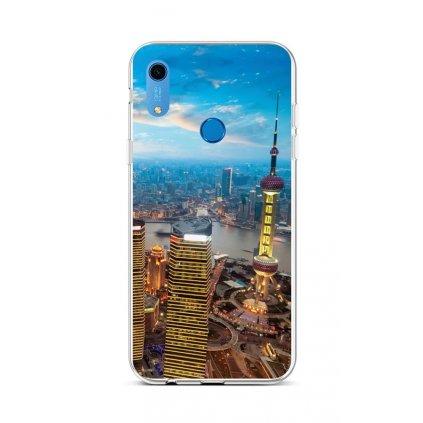 Zadný silikónový kryt na Huawei Y6s City