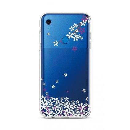 Zadný silikónový kryt na Huawei Y6s Kvety sakury