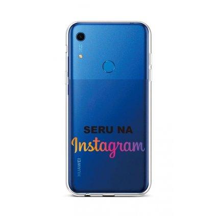 Zadný silikónový kryt na Huawei Y6s Instagram