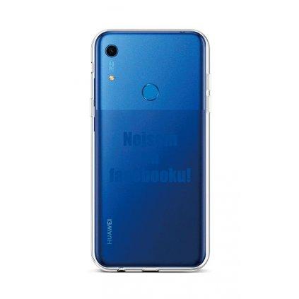 Zadný silikónový kryt na Huawei Y6s Nie som na Facebooku