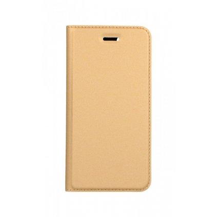 Flipové púzdro Dux Ducis na iPhone SE 2020 zlaté