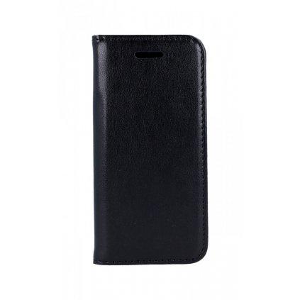 Flipové púzdro Magnet Book na iPhone 5 / 5s / SE čierne