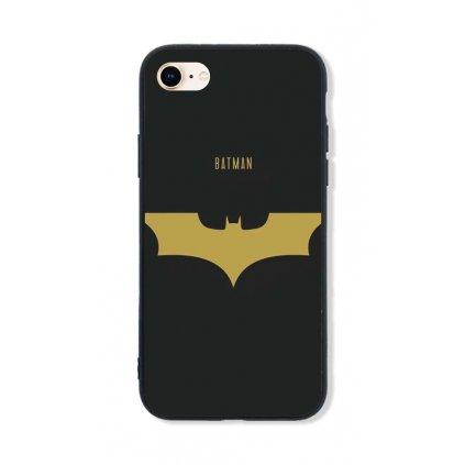 Zadný pevný kryt LUXURY na iPhone 8 Gold Batman