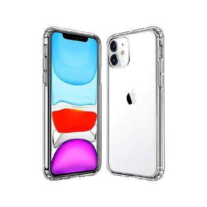 Zadný kryt Swissten Clear Jelly na iPhone 11 priehľadný