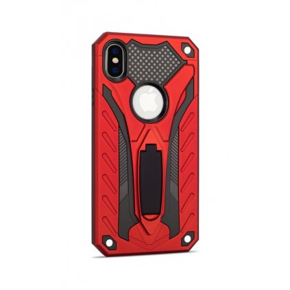 Ultra odolný zadný kryt na iPhone XS Phantom červený