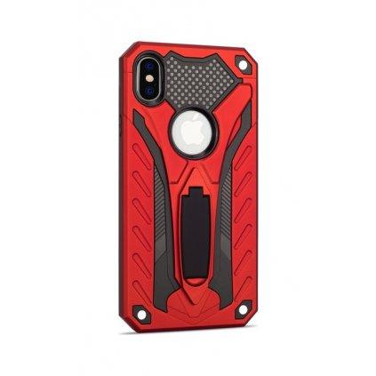 Ultra odolný zadný kryt na iPhone XR Phantom červený