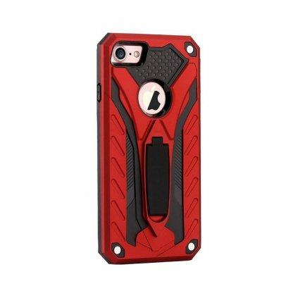 Ultra odolný zadný kryt na iPhone 8 Phantom červený
