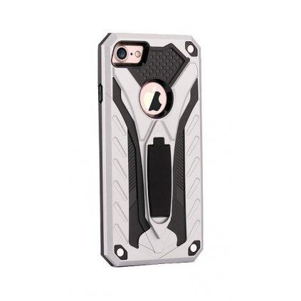 Ultra odolný zadný kryt na iPhone 8 Phantom strieborný