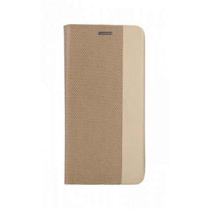 Flipové púzdro Sensitive Book na Samsung A51 zlaté
