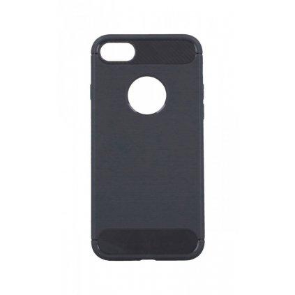 Zadný silikónový kryt na iPhone 8 šedý