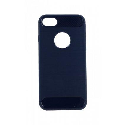 Zadný silikónový kryt na iPhone 8 modrý
