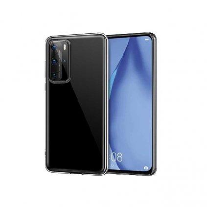 Ultratenký silikónový kryt na Huawei P40 0,5mm priehľadný