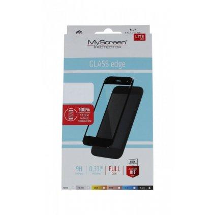 Tvrdené sklo MyScreen na Huawei Y5p FullGlue LITE čierne