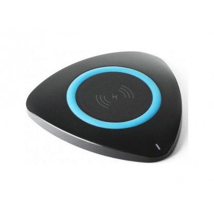 Bezdrôtová rýchlonabíjačka KD02 Qi Fast Charge čierna