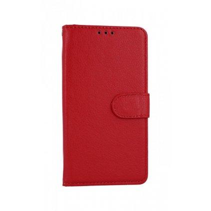 Flipové púzdro na Huawei Y5p červené s prackou