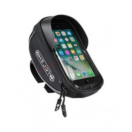 Puzdro CYCLING Basic pre mobilný telefón na riadidlá bicykla čierne XL