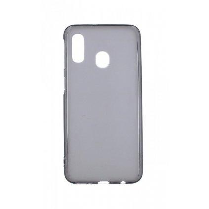 Zadný silikónový kryt KISSWILL na Samsung A40 tmavý
