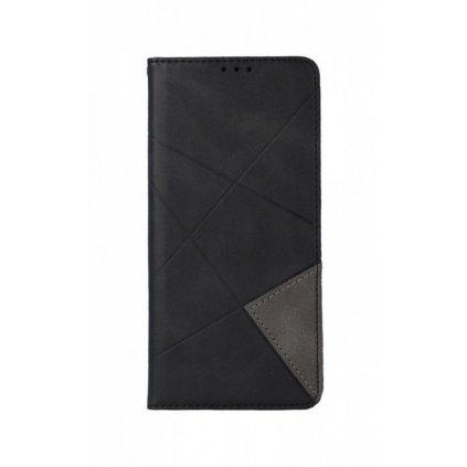 Flipové puzdro Geometric na Xiaomi Redmi Note 8 čierne