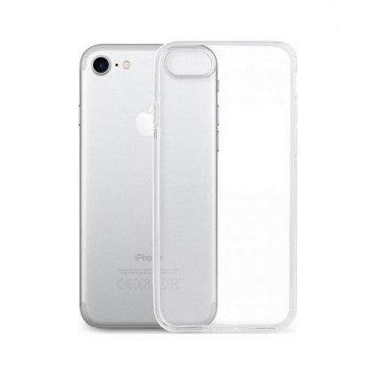 Zadný silikónový kryt na iPhone 8 2 mm priehľadný