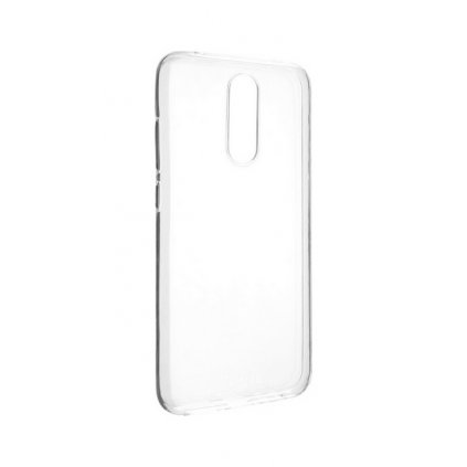 Zadný silikónový kryt na Xiaomi Redmi 8 2 mm priehľadný