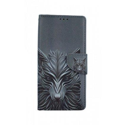 Flipové puzdro na Xiaomi Redmi 9 Vlk