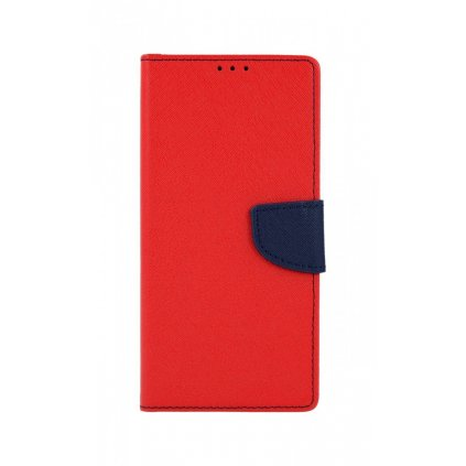Flipové puzdro na Xiaomi Redmi Note 9 Pro červené