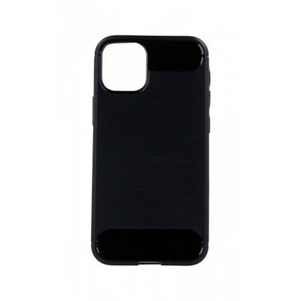 Zadný silikónový kryt na iPhone 12 čierny