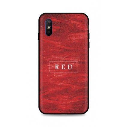 Zadný pevný kryt LUXURY na Xiaomi Redmi 9A Red
