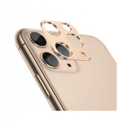 Ochranný kryt zadného fotoaparátu iPhone 11 Pro zlatý