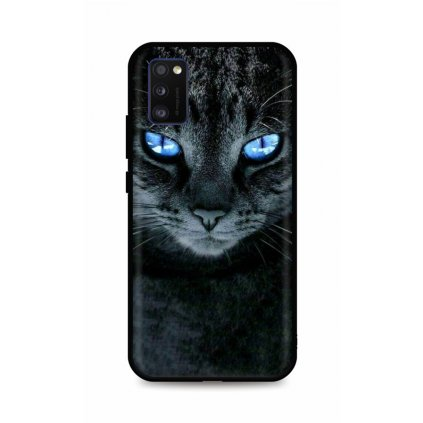 Zadný silikónový kryt DARK na Samsung A41 Dark Cat