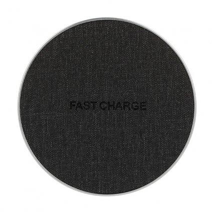 Bezdrôtová rýchlonabíjačka FC02 čierna