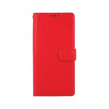 Flipová knižka na Xiaomi Redmi 9C červené s prackou