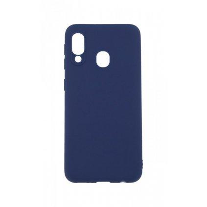 Zadný silikónový kryt Forcell Soft na Samsung A20e modrý