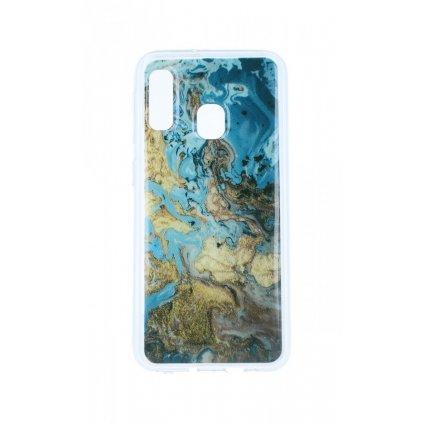 Zadný pevný kryt na Samsung A20e Marble Design 4