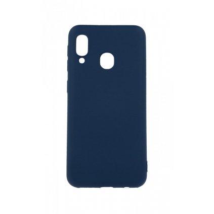 Zadný silikónový kryt Forcell Lite na Samsung A20e modrý