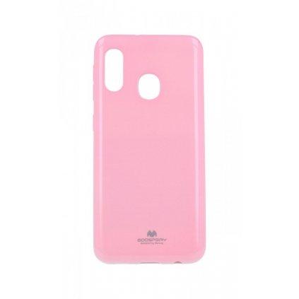 Zadný kryt Mercury Jelly Case na Samsung A20e svetlo ružový