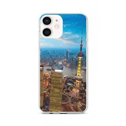 Zadný silikónový kryt na iPhone 12 mini City