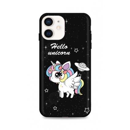 Zadný pevný kryt LUXURY na iPhone 12 mini Unicorn