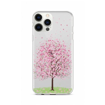 Zadný silikónový kryt na iPhone 12 Pro Max Blossom Tree