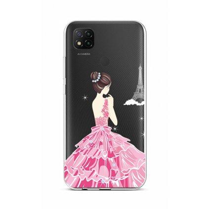 Zadný silikónový kryt na Xiaomi Redmi 9C Pink Princess