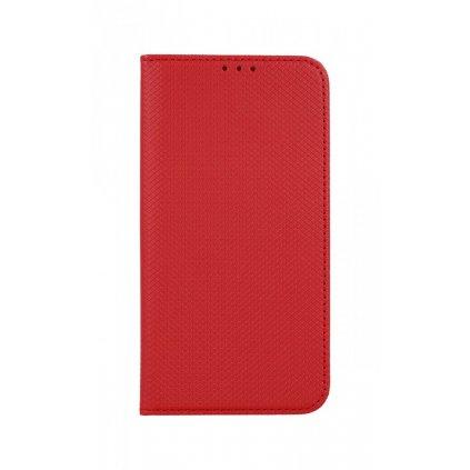 Flipové puzdro Smart Magnet na iPhone 12 mini červené