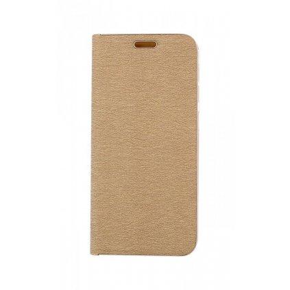 Flipové puzdro Luna Book na Samsung A20e zlaté