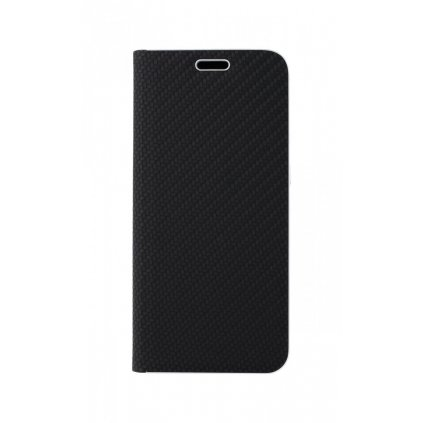 Flipové puzdro Luna Carbon Book na Samsung A20e čierne