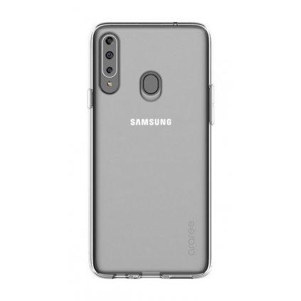 Zadný silikónový kryt Araree na Samsung A20s priehľadný