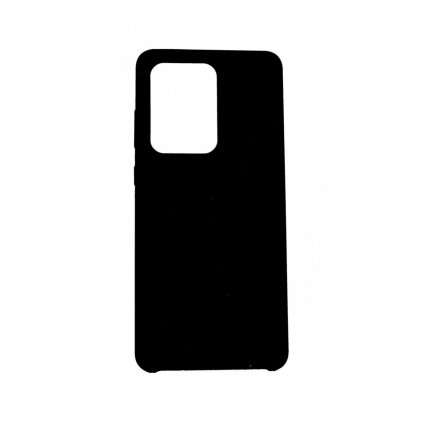 Zadný silikónový kryt Mercury Soft Case na Samsung S20 Ultra 5G čierny